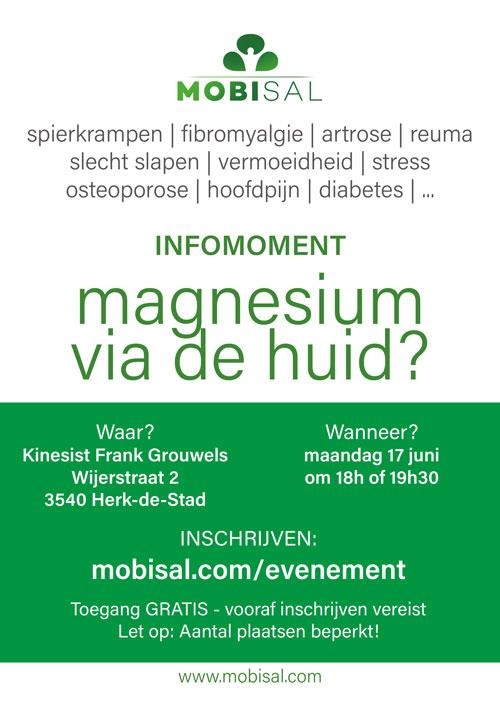 Infomoment   Magnesium via de huid